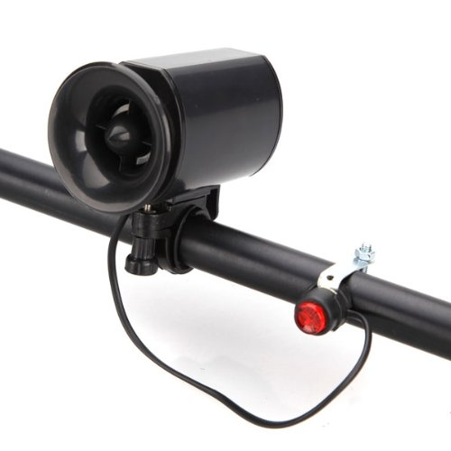 Preisvergleich Produktbild 7 Sounds Ultra laute elektronische Fahrradklingel Fahrrad Sirene Horn