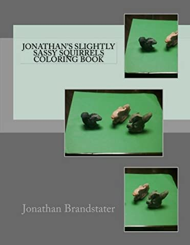 Jonathan's slightly sassy squirrels coloring book