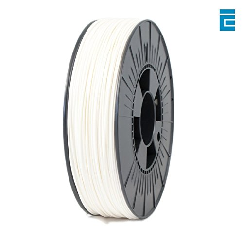 ICE Filaments ICEFIL1ABS023 ABS filament, 1.75mm, 0.75 kg, Wondrous White