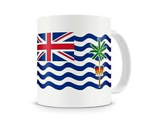 Mug drapeau Territoire britannique de l'océan Indien