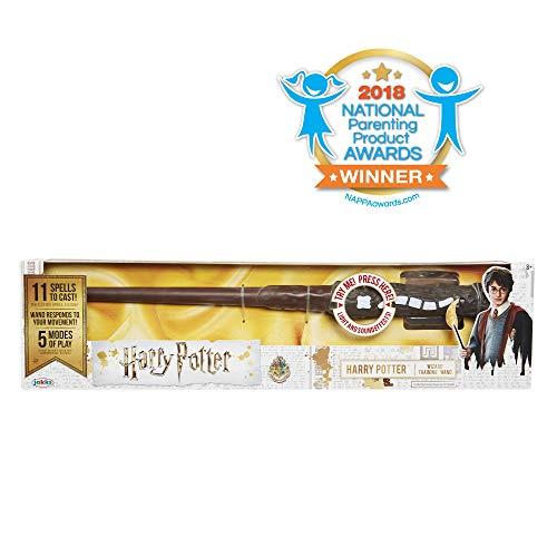 HARRY POTTER 73195 Harry Potters magischer Zauberstab mit -