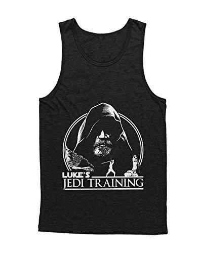 Hypeshirt Tank-Top Lukes Jedi Training C000132 Schwarz M