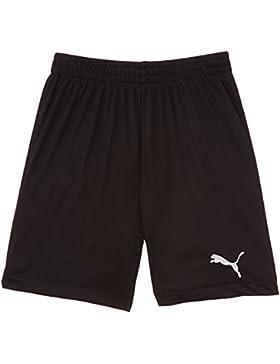 Puma SMU Velize Shorts W/O Innerslip - Pantalones cortos de fútbol para niño, color negro, talla 140 cm