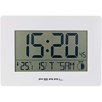 Uhren & Schmuck Sinnvoll Dcf Funk-wanduhr Funk-uhr Bad-uhr Badezimmer-uhr Digital Thermometer Display Haushaltsgeräte