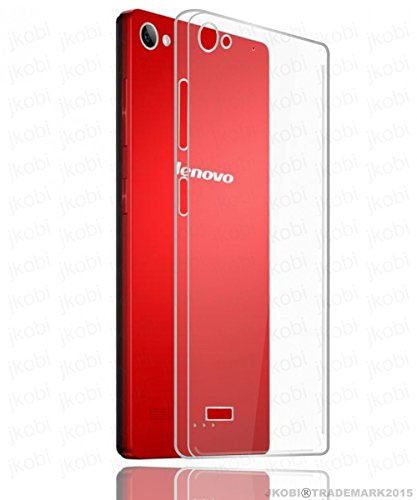 Jkobi(TM) Exclusive Soft Silicone TPU Jelly Crystal Clear Case Soft Back Case Cover For Lenovo Vibe X2 - Transparent  available at amazon for Rs.189