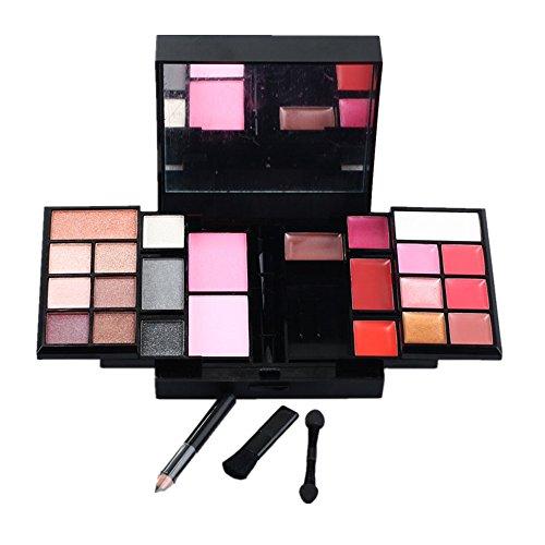 PhantomSky 23 Couleurs Fard à Paupières Palette de Maquillage Cosmétique Set avec Correcteur et Fard à Joues et Rouge à Lèvres - Parfait pour une utilisation professionnelle et quotidienne