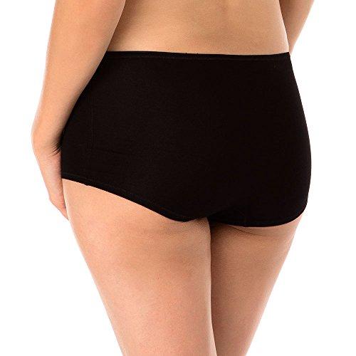 Calida Damen Panties Panty Soft Favourites Schwarz (schwarz 992)