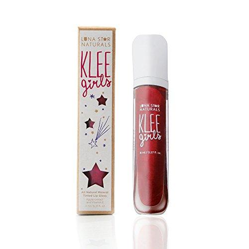 Luna Star Naturals Klee Girls Lip Gloss, Sequoia Beat Sparkle