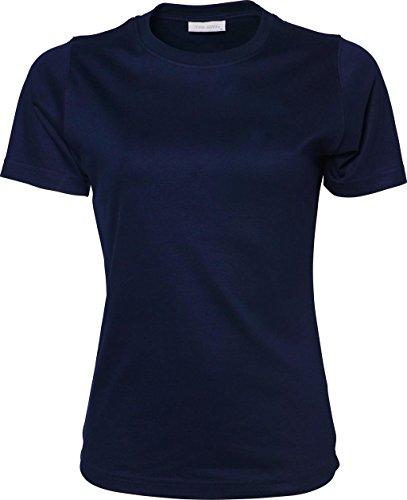 Ladies Interlock Maglietta blu navy