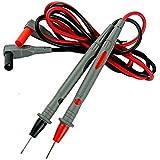 elecall a18-d punta de la aguja sonda puntas de prueba Pin caliente Universal multímetro Digital Multi Medidor Probador plomo Sonda Cable pluma de alambre 17mm