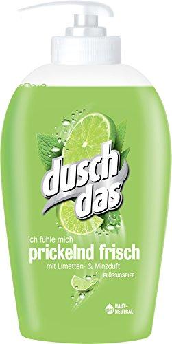 Duschdas Flüssigseife Limette & Minze, 6er Pack (6x250 ml) (Flüssige Seife Und Lotion)