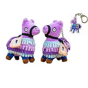 Blest Guest Loot Llama Peluche Muñeco de Peluche de Juguete Figura, Troll Stash Animal Alpaca Regalo para niños Niños Niños (XL)