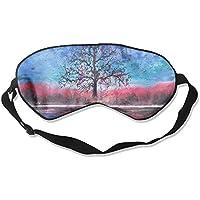 Painted Landscape Watercolor River Sleep Eyes Masks - Comfortable Sleeping Mask Eye Cover For Travelling Night... preisvergleich bei billige-tabletten.eu