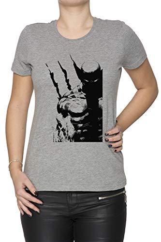 Erido Los Mejor A Qué Yo Hacer Mujer Camiseta Cuello Redondo Gris Manga Corta Tamaño XL Women's Grey T-Shirt X-Large Size XL