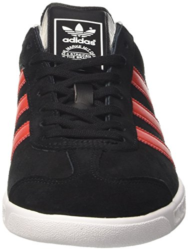 adidas Herren Hamburg Tennisschuhe Mehrfarbig (Cblack/red/ftwwht)