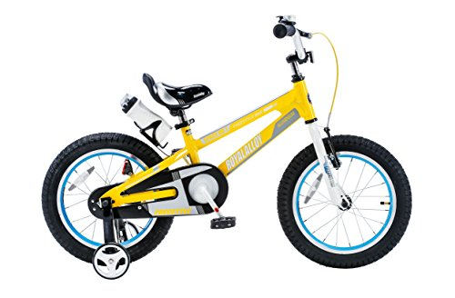 royalbaby-space-no-1-kids-bike-perfect-gift-for-kids-16-inch-wheels-yellow-by-royalbaby