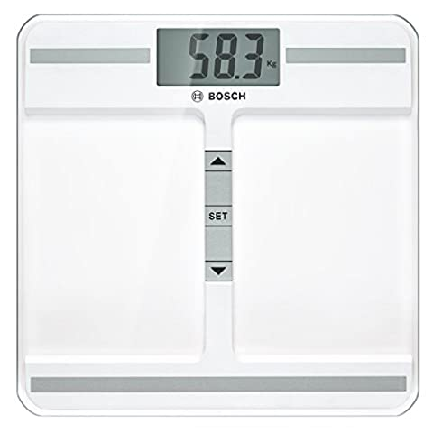 Bosch PPW4212 Personenwaage Axxence Step On BMI, weiß