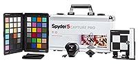 DataColor Spyder 5CAPTURE PRO est le pack idéal pour les photographe. Inclut les éléments essentiels au bon déroulement du travail du photographe de la prise à la retouche, pour gérer parfaitement la mise au point automatique, les contrastes et les c...