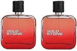 Wild Stone Ultra Sensual Red Pack Of 2 Eau de Parfum - 100ml (For Men, Boys)