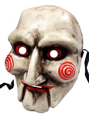 Authentic Handgefertigt Saw Jigsaw Halloween Horror Full Face venezianische Masquerade Maske