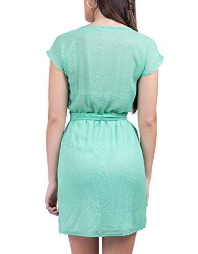 amarillolimon - Robe - Femme Vert