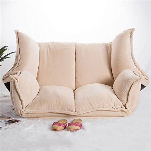 K-Y Sofá Sofá Cama Tejido Ajustable Chaise Lounge Sofá Silla Silla Sofá...