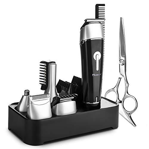NAVANINO (surker) Haarschneider Multifunktions Haarschneidemaschine kann als Trimmer Heimkit und Schere verwendet werden für Kinder und Herren. (Rasieren-maschine Kopf)