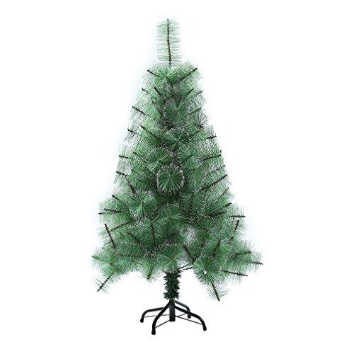 Hifeel Künstlicher Weihnachtsbaum 240/210 cm 450/300 Spitzen Schneeflocke Komatsu Nadel Weihnachtsbaum+ Ständer Christbaum Weihnachten (240cm 450 Spitzen)