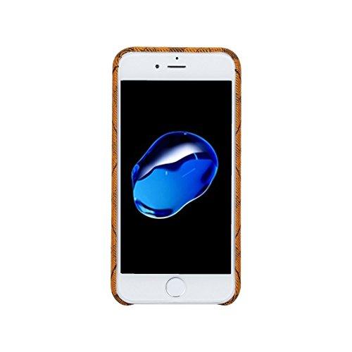 iPhone Case Cover Pour iPhone 7 diamant motif en treillis TPU étui de protection arrière ( Color : Yellow ) Yellow