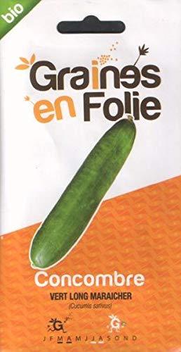 Concombre Vert Long Maraicher - 0,50 gramme - SEM03 - Opportunité - Quantité Limité