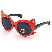 gafas sol niña - Naranja - Amazon.es