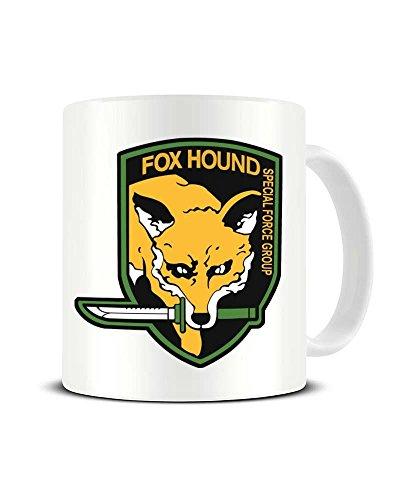 Funky NE Ltd Fox Hound Special Forces – Metal Gear Solid – Keramik Kaffeetasse – tolle...