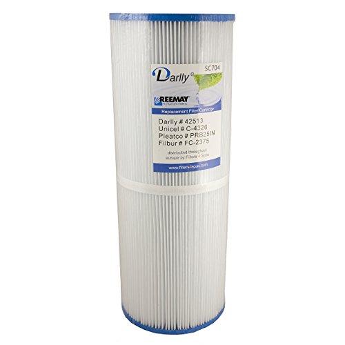 Darlly® Filter Ersatzfilter SC704 Lamellenfilter Apollo Jacuzzi Villeroy & Boch -
