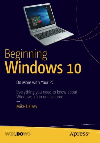 Beginning Windows 10 2015