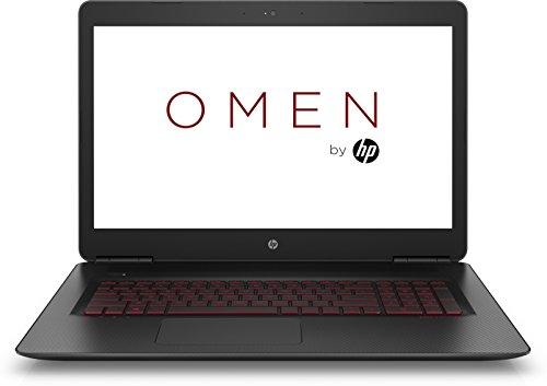 """HP OMEN 17-w000nl Notebook, Intel Core i7-6700HQ, RAM 16 GB, SSD 128 GB + HDD 1 TB, Scheda Video Nvidia GeForce GTX 965M con 4 GB dedicati, Display Full HD IPS da 17.3"""", Tastiera retroilluminata, Nero"""