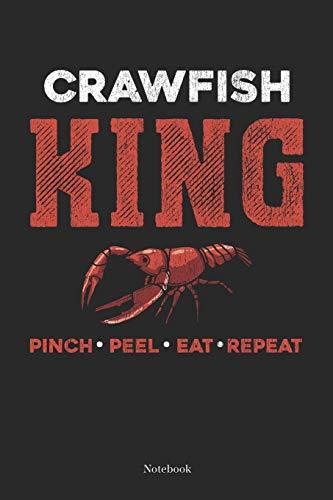 Pinch Peel Eat Repeat: Cajun Crawfish Boil Notebook South Cajun Journal (6 x 9 -120 grid pages)