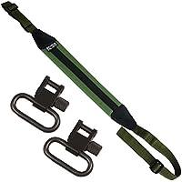 Savage Island Correa Verde Nylon + Eslabones para Pistola de Aire Rifle y Caza