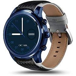 Househome LEMFO LEM5 Pro - 3G Smartwatch Phone 1.3GHz Quad Core 2GB RAM 16GB ROM, Android 5.1 Monitor De Ritmo Cardíaco Podómetro GPS