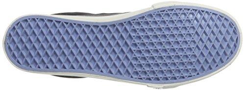 HIS Ct19-023, Sneaker Basse Uomo Schwarz (black line washed textil)