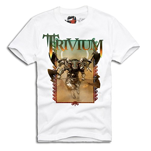 E1SYNDICATE TRIVIUM T-SHIRT HEAVY METAL METALLICA KILLSWITCH IN FLAMES S/M/L/XL