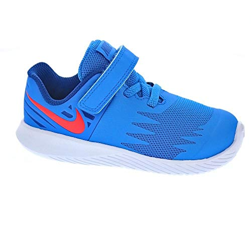 big sale 80fbb 25464 Nike Star Runner (TDV), Zapatillas de Estar por casa Bebé Unisex, (Photo  Blue Red Orbit Indigo Force White 408), 22 EU