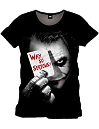 Batman Herren T-Shirt Joker Why So Serious