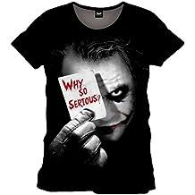 Batman Joker Why So Serious - Camiseta Hombre