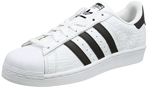 adidas Superstar, Chaussures de Running Homme, Multicolore (Ftwr White/Core Black/Core Black), 40 EU