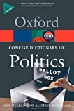 The Concise Oxford Dictionary of Politics 3/e (Oxford Quick Reference)