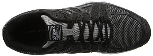 Asics S410N gel-exert T–Scarpe da uomo Black/Onyx/Lightning