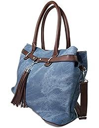 Leder Jeans Tasche Henkeltasche Handtasche 9139