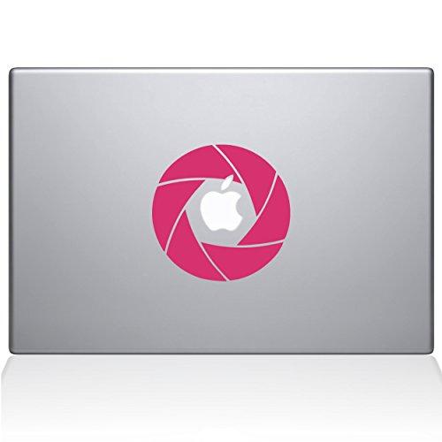 Die Aufkleber Guru 2056-mac-12m-bg Kamera Shutter Aufkleber Vinyl Aufkleber, 30,5cm MacBook, Pink