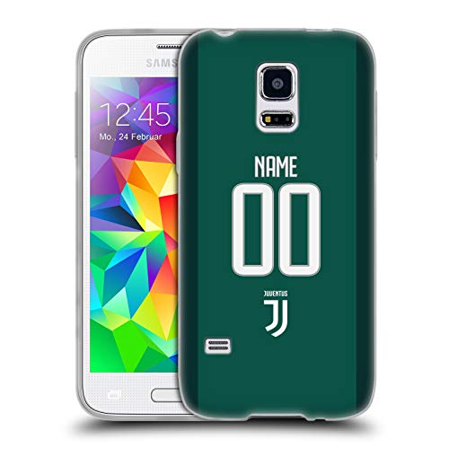Head case designs personalizzata personale juventus football club home goalkeeper cover morbida in gel per samsung galaxy s5 mini