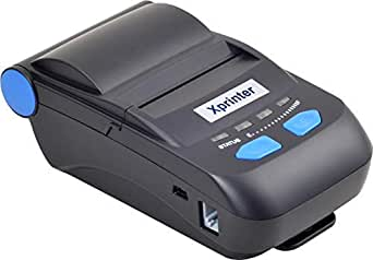 Xprinter XP P300 58mm portable rechargeable thermal printer. USB + Bluetooth Interface